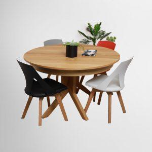 שולחן לפינת אוכל מעץ מלא דגם יקיר