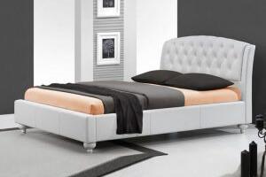 מיטה זוגית מעור אמיתי דגם CAMELIA