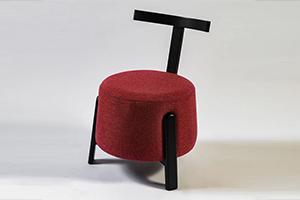 כורסא FLY עץ אלון שחור