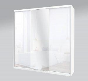 ארון הזזה 3 דלתות זכוכית